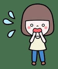 Honobono sticker #5744308