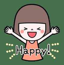 Honobono sticker #5744310