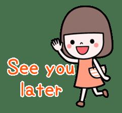 Honobono sticker #5744321