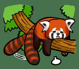 """Red Panda """"Pandy"""" sticker #5745253"""
