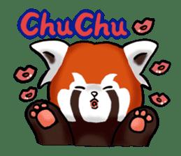 """Red Panda """"Pandy"""" sticker #5745255"""
