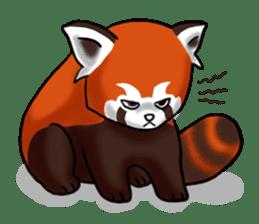 """Red Panda """"Pandy"""" sticker #5745256"""