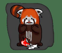 """Red Panda """"Pandy"""" sticker #5745258"""