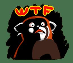 """Red Panda """"Pandy"""" sticker #5745263"""