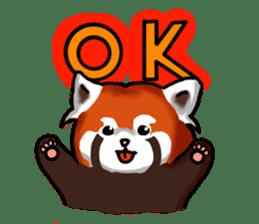 """Red Panda """"Pandy"""" sticker #5745270"""
