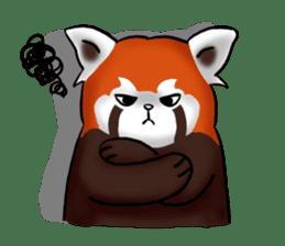 """Red Panda """"Pandy"""" sticker #5745275"""