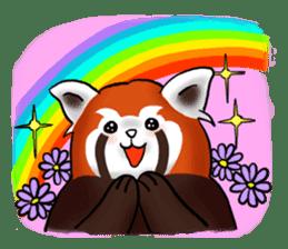 """Red Panda """"Pandy"""" sticker #5745277"""