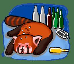 """Red Panda """"Pandy"""" sticker #5745278"""