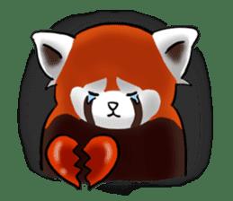 """Red Panda """"Pandy"""" sticker #5745281"""