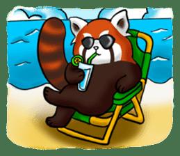 """Red Panda """"Pandy"""" sticker #5745283"""