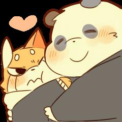 Lesser panda and Panda