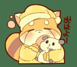 Lesser panda and Panda sticker #5745884