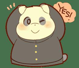 Lesser panda and Panda sticker #5745899