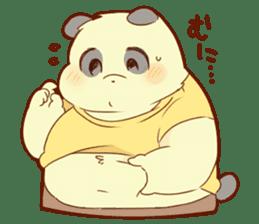 Lesser panda and Panda sticker #5745901