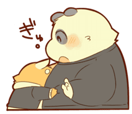 Lesser panda and Panda sticker #5745920
