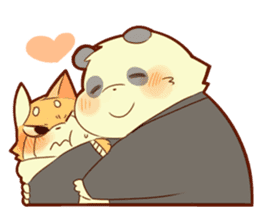 Lesser panda and Panda sticker #5745921