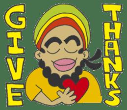 Jamaican Reggae Sticker sticker #5746732