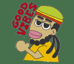 Jamaican Reggae Sticker sticker #5746737