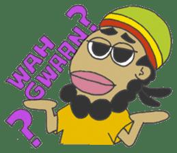 Jamaican Reggae Sticker sticker #5746741
