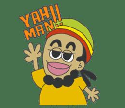 Jamaican Reggae Sticker sticker #5746746