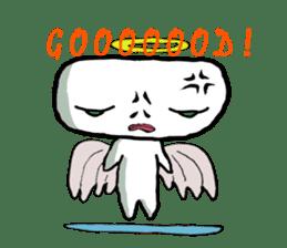 Keshi-Gumlin the goblin of eraser sticker #5748598