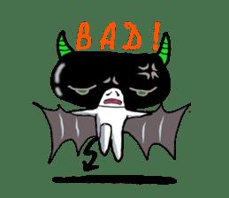 Keshi-Gumlin the goblin of eraser sticker #5748599
