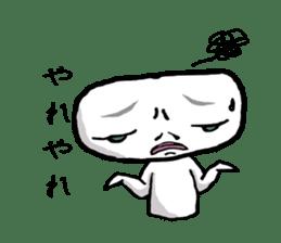Keshi-Gumlin the goblin of eraser sticker #5748600