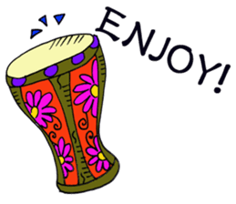 Belly Dancer (English version) sticker #5749377