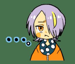 kimono syoko sticker #5749893