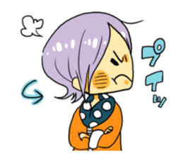 kimono syoko sticker #5749896