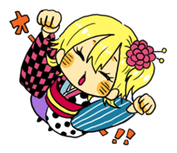 kimono syoko sticker #5749911