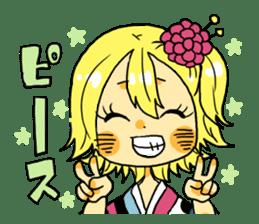 kimono syoko sticker #5749928