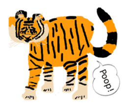 Kou and Animal sticker #5750403