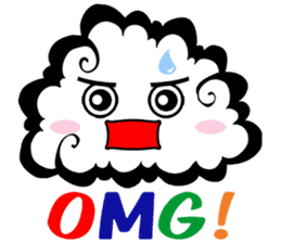 Cloud! sticker #5752283