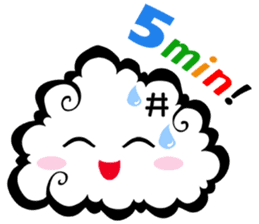 Cloud! sticker #5752285