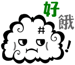 Cloud! sticker #5752289