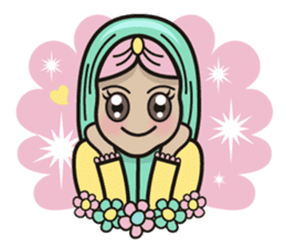 Pastel Hijab sticker #5752894