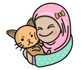 Pastel Hijab sticker #5752909