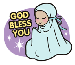 Pastel Hijab sticker #5752923