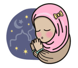 Pastel Hijab sticker #5752927