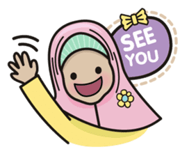 Pastel Hijab sticker #5752930