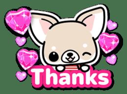 Chihuahua 3D Sticker ( English ) sticker #5759293