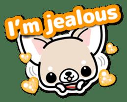 Chihuahua 3D Sticker ( English ) sticker #5759301