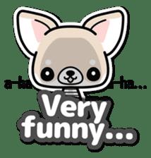 Chihuahua 3D Sticker ( English ) sticker #5759319