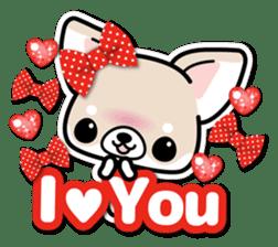 Chihuahua 3D Sticker ( English ) sticker #5759320