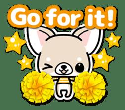 Chihuahua 3D Sticker ( English ) sticker #5759321