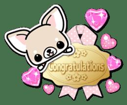 Chihuahua 3D Sticker ( English ) sticker #5759322