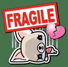 Chihuahua 3D Sticker ( English ) sticker #5759328