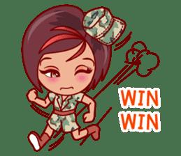Gigi The Pretty World Soldier (EN) sticker #5765469