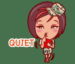 Gigi The Pretty World Soldier (EN) sticker #5765472